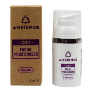 Ambience CBD Facial Moisturiser – 30ml